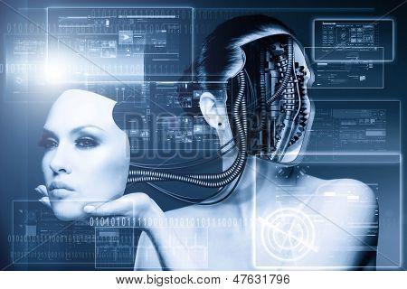 Cyber fashion.