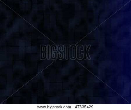 background black and blue with motif