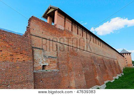 Architecture Of The Kolomna Kremlin, City Of Kolomna, Russia.