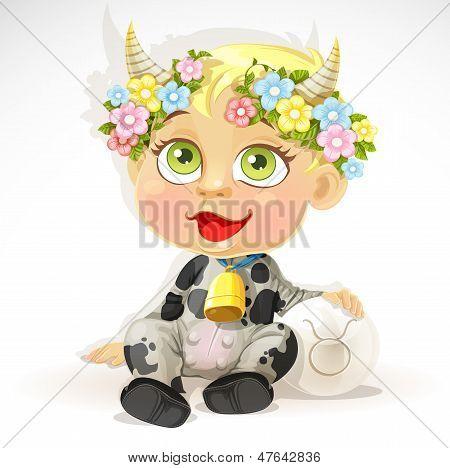 Bebé Zodiaco - signo Tauro