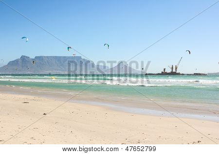 Milnerton Beach In Cape Town