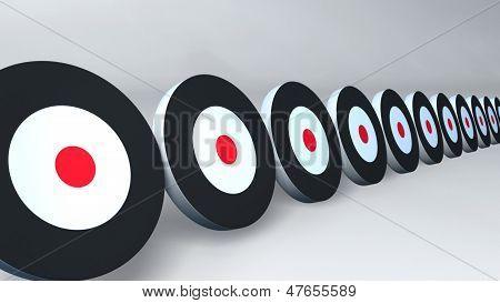 Black Targets White
