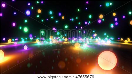 Colorful Light Balls 1