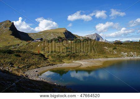 Mountain hut in Tyrol