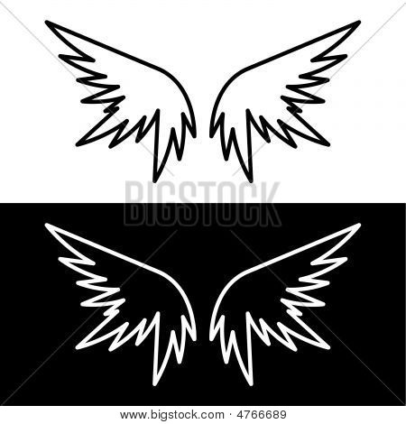 Angel Or Demon Wings