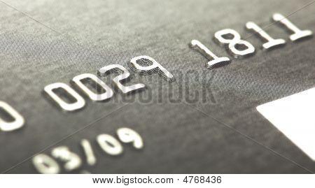 Macro Of Credit Card Numbers