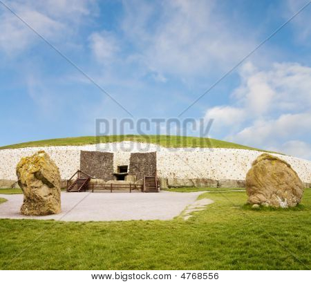 Unesco World Heritage Newgrange In Ireland