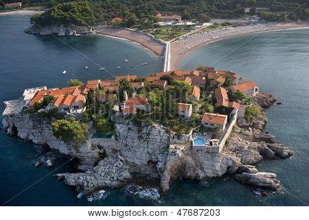 Sveti Stefan island, Montenegro