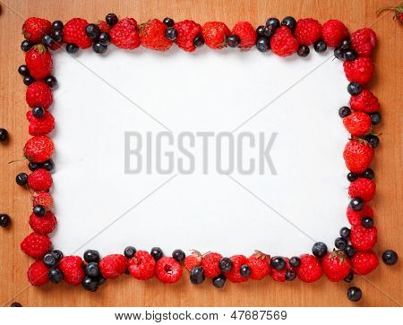 Colorful Border Frame
