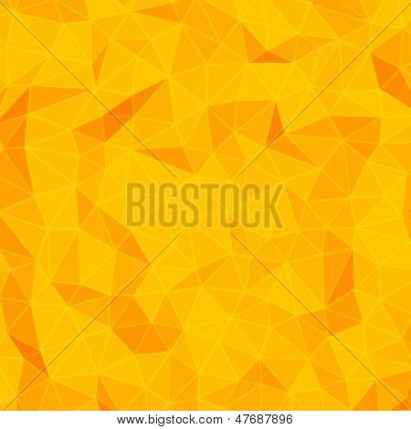 Abstract 3d origami wire paper vector background.