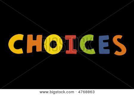 Word Choices