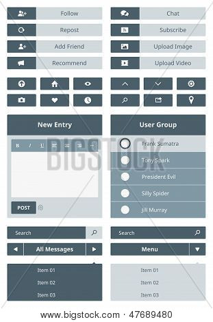 Website User Interface Form