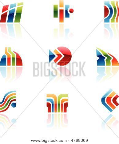 Glossy Retro Icons