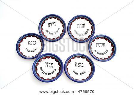 6 Passover Plates