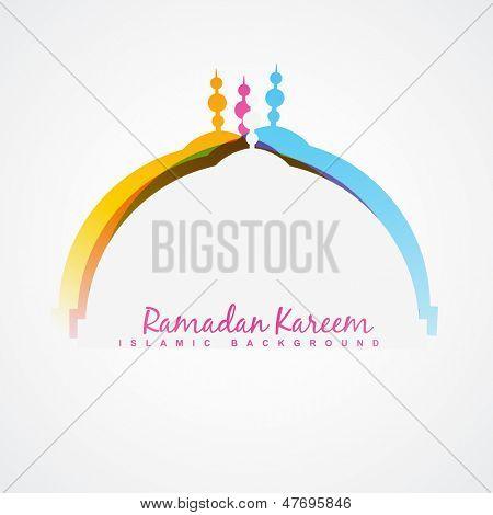 vector ramadan festival design background