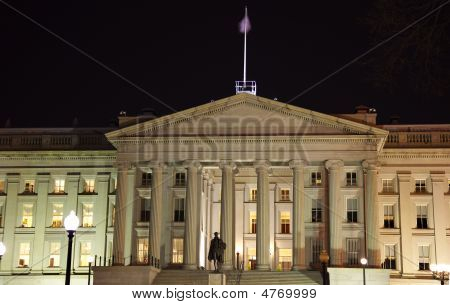 Us Treasury Department Alexander Hamilton Statue Washington Dc