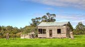 stock photo of hamlet  - An abandoned farmhouse near the hamlet of Karridale in the Margaret River region of Western Australia - JPG