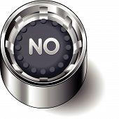 Rubber button round no