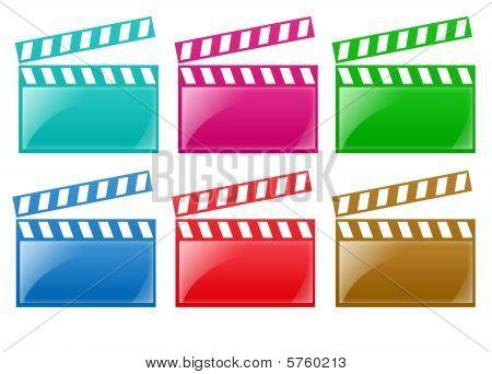 Glanzfilm rails