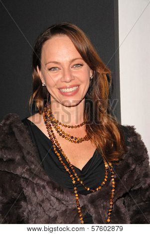 Melinda Clarke at the Maxim Cover party featuring Tricia Helfer and Grace Park, MI6, West Hollywood, CA.  10-20-09