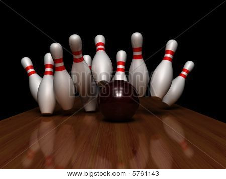 The Strikes With Bowling Ball
