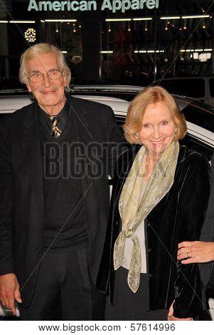Martin Landau and Eva Marie Saint  at the AFI Fest Gala Screening of