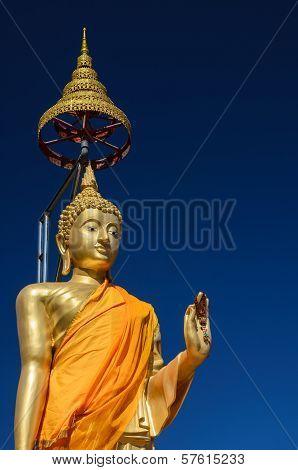 Stand Buddha Statue