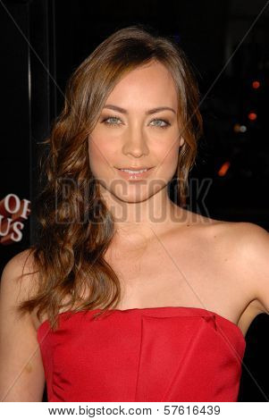 Courtney Ford at the AFI Fest Gala Screening of