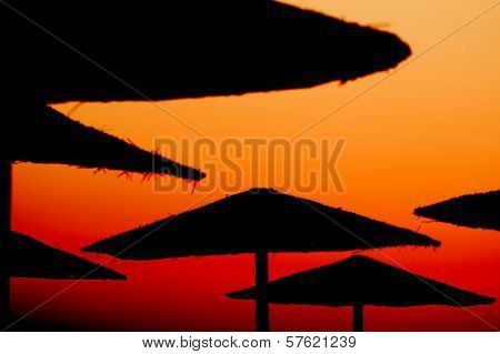 Beach Parasols - Egypt