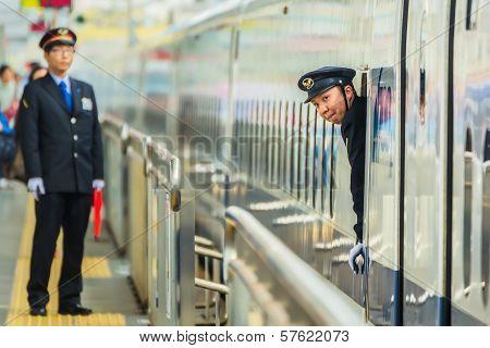 Train Conductor in Okayama