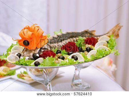Dish Of Sturgeon
