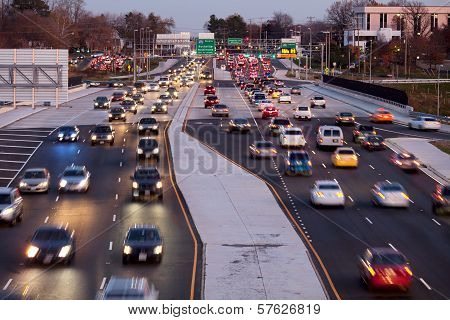 Traffic Fairfax County