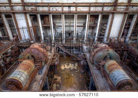 Two Abandoned Turbines