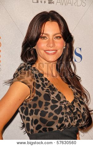 Sofia Vergara at the 2010 People's Choice Awards Nomination Announcments, SLS Hotel,  Los Angeles, CA. 11-10-09