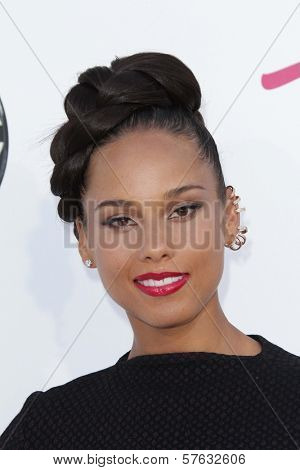 Alicia Keys at the 2012 Billboard Music Awards Arrivals, MGM Grand, Las Vegas, NV 05-20-12