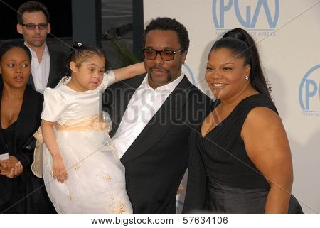 Lee Daniels and Mo'Nique at the 21st Annual PGA Awards, Hollywood Palladium, Hollywood, CA. 01-24-10