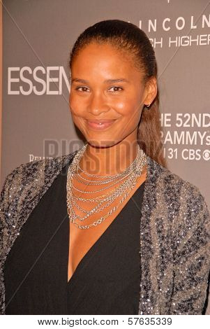 Joy Bryant at the ESSENCE Black Women in Music celebration honoring Mary J. Blige, Sunset Tower Hotel, West Hollywood, CA. 01-27-10