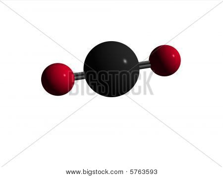 Molecule - Carbon Dioxide -CO2
