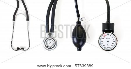 Tonometer And Stethoscope