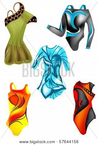 Set Of Leotards