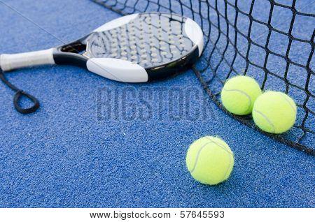 Paddle Tennis Still Life