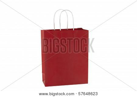 Red Shopping Bag