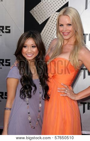 Brenda Song and Gena Lee Nolin at the Los Angeles Premiere of 'Transformers Revenge of the Fallen'. Mann Village Theatre, Westwood, CA. 06-22-09