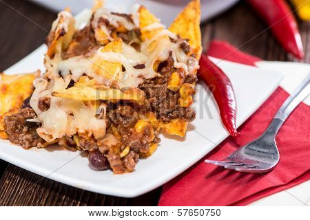 Nacho Gratin With Chili Con Carne