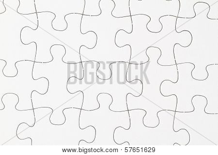 Blank Puzzle In Detail