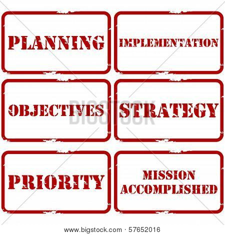 Strategic Plan Stamps