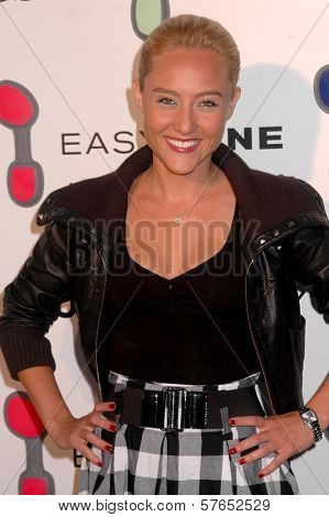 Lauren C. Mayhew at the Reebok 'Easytone' Footwear Celebration. Private Location, Beverly Hills, CA. 06-23-09