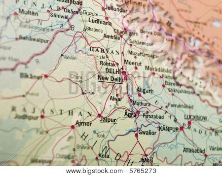 Mapa de Deli