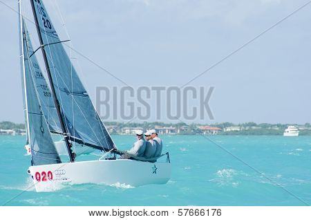 Star Finishes 7Th At Melges 20 World Championships