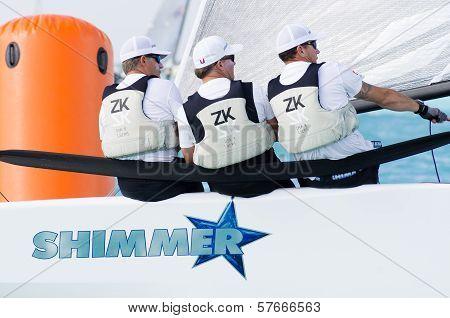 Shimmer At The Melges 20 World Championships